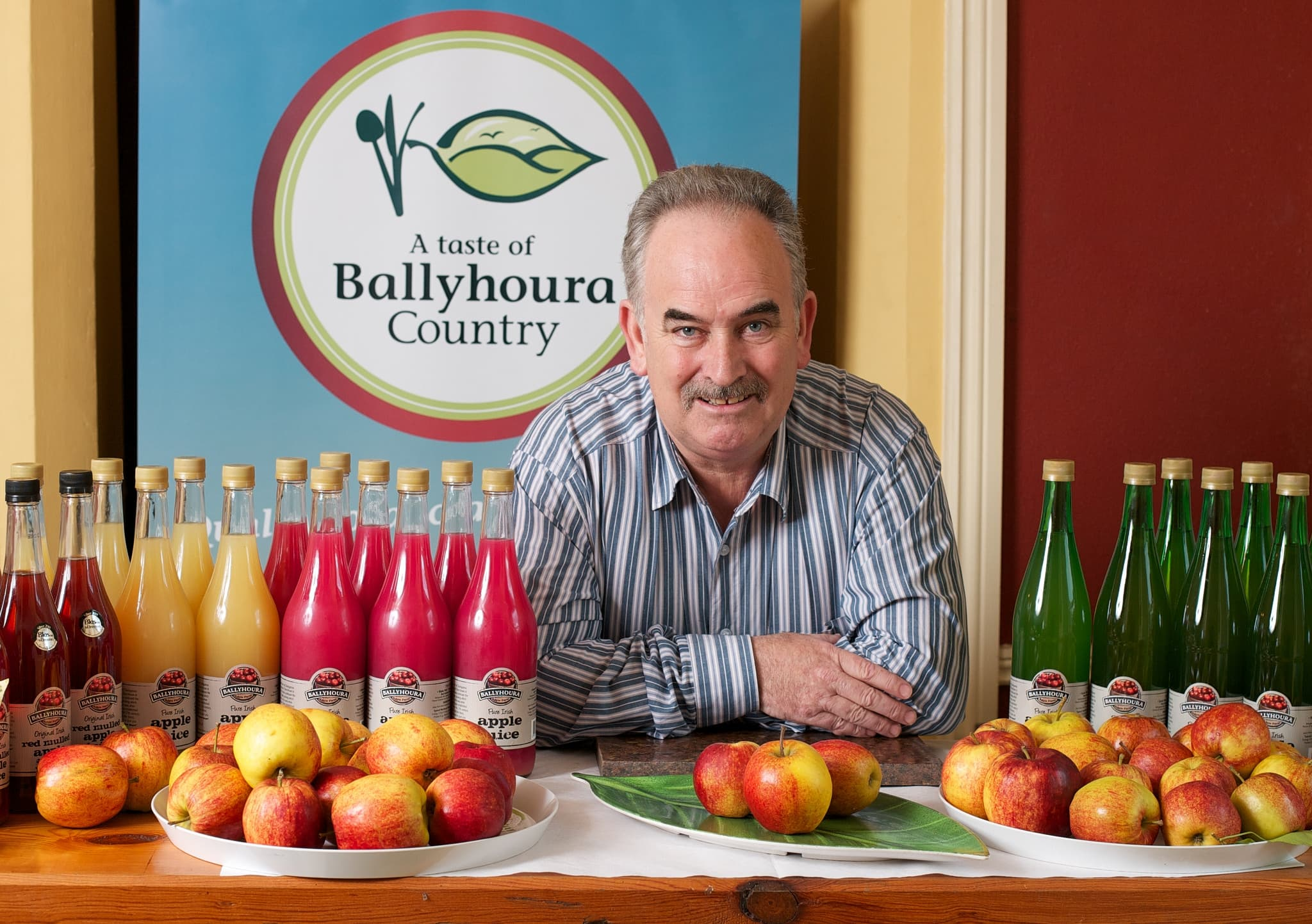 A Taste of Ballyhoura Food Brand Ballyhoura Apple Juice
