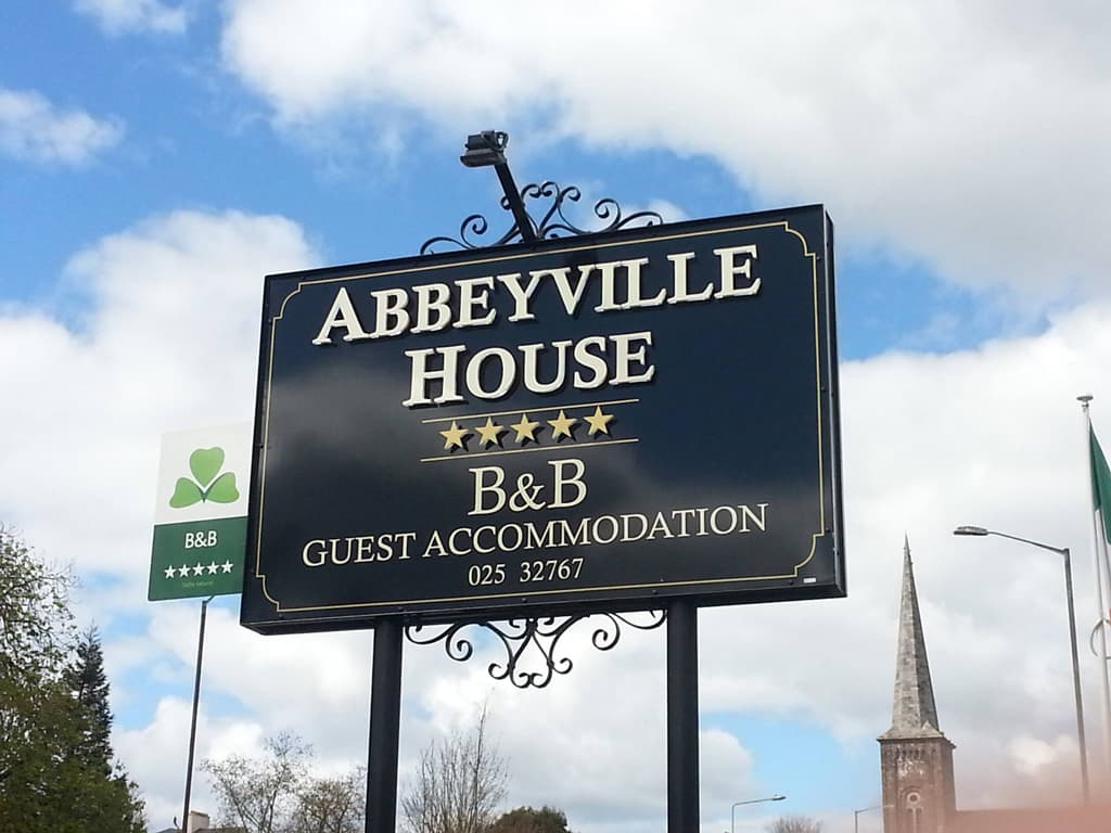 Abbeyville House Sign