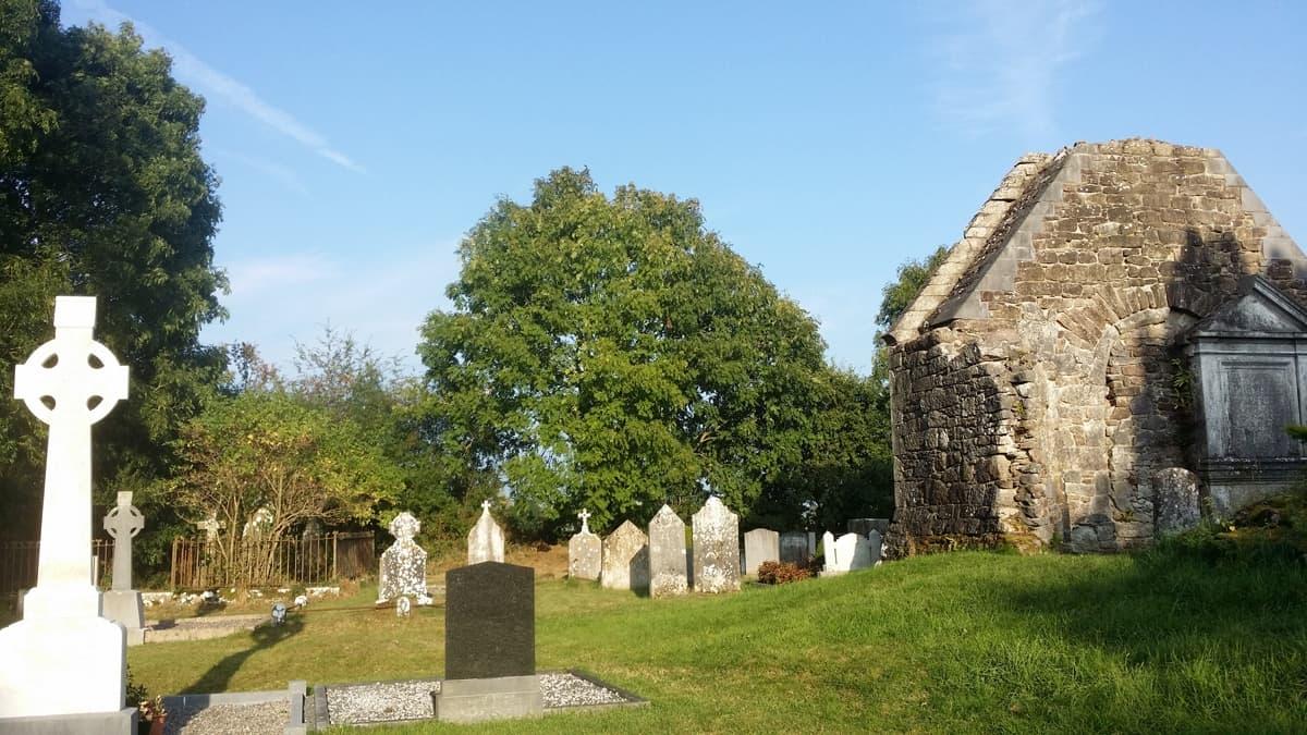 Aghacross Church and Graveyard detail