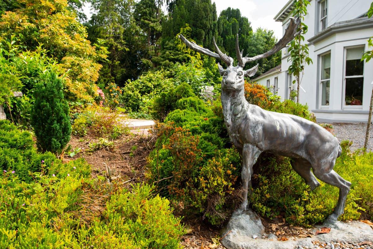 Ballinwillin House Deer Statue