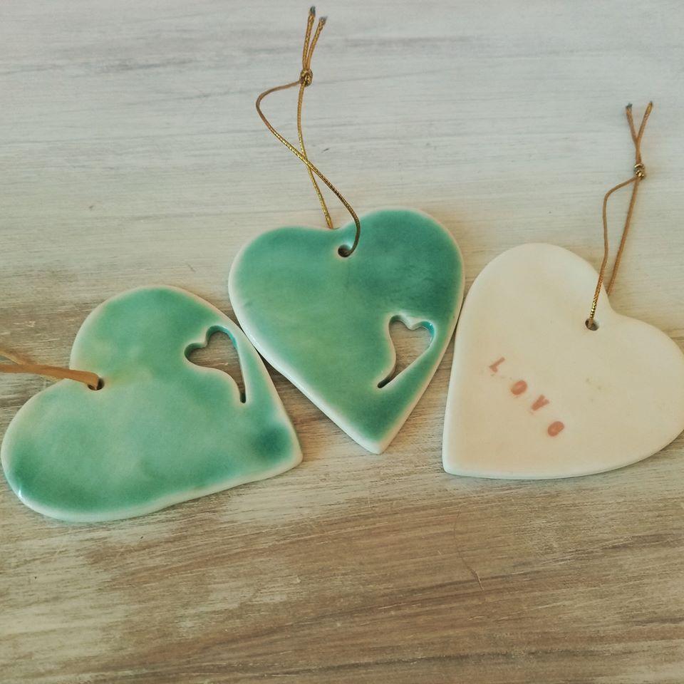 Ballyhoura Ceramics Hearts