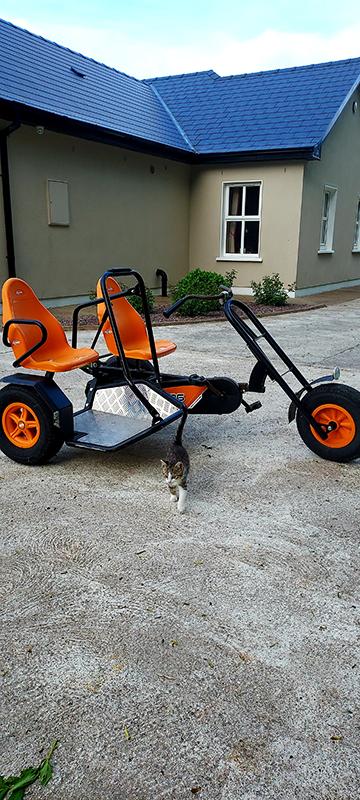 Ballyhoura Escape Double Tricycle