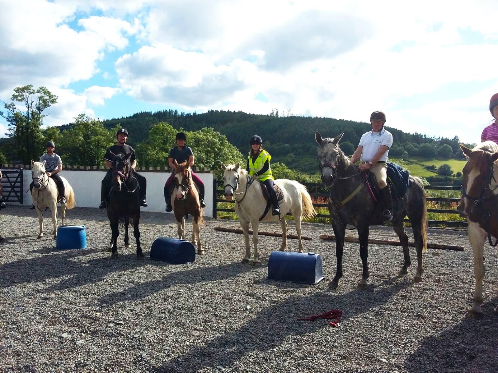 Ballyhoura Horse Trekking 1