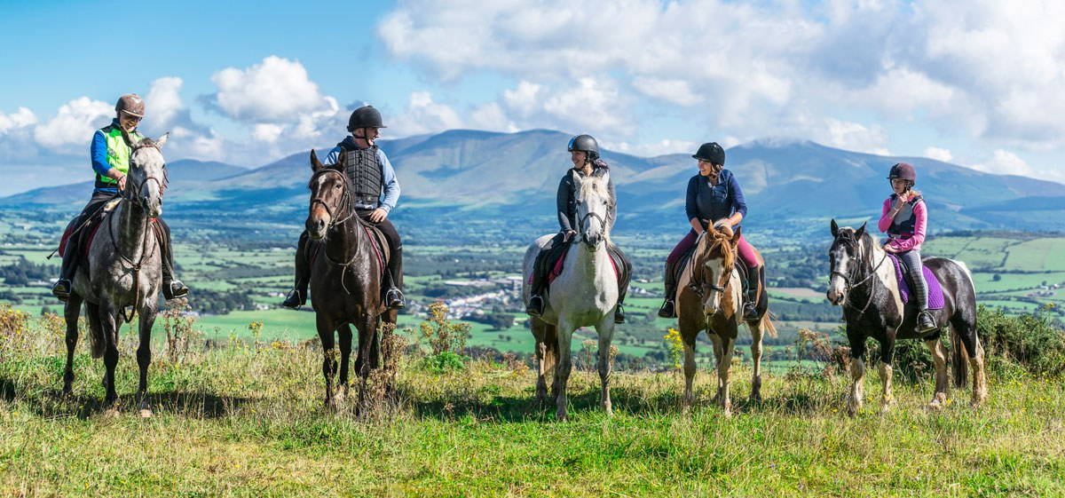Ballyhoura Horse Trekking Limerick