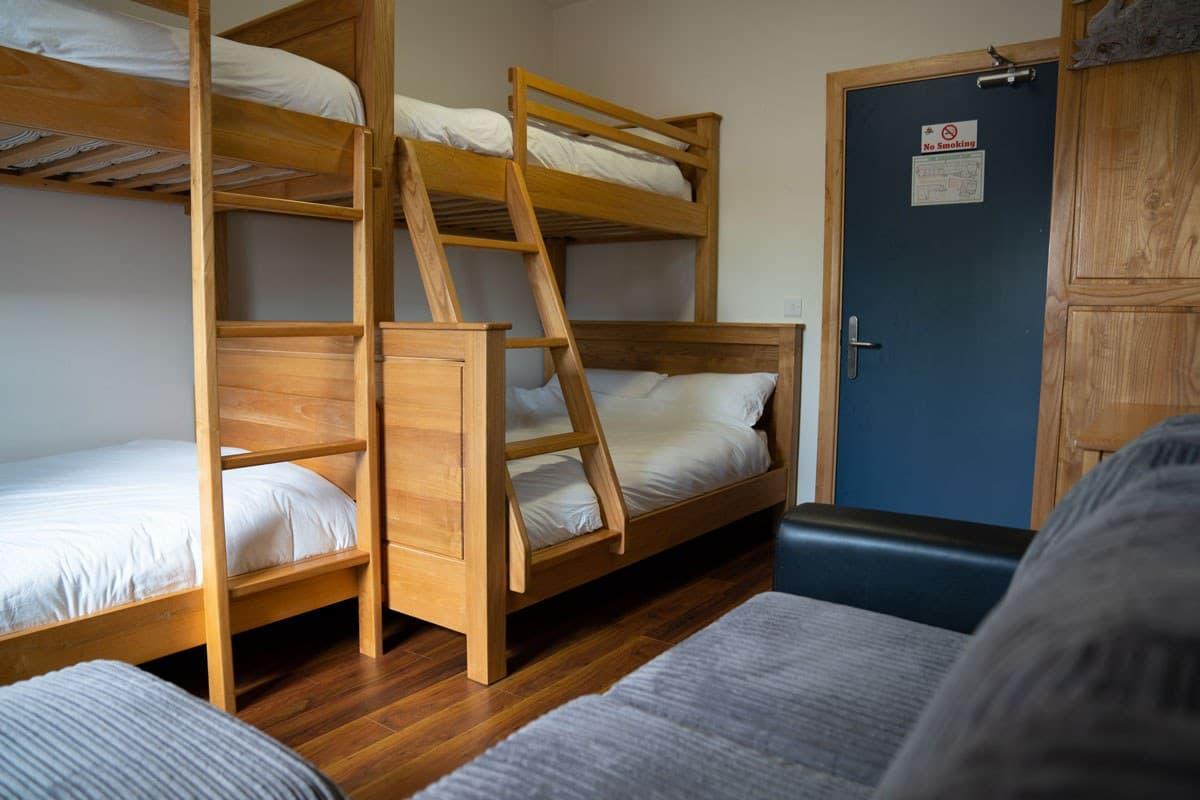 Ballyhoura Hostel Bed Family Room