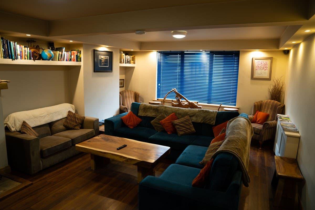 Ballyhoura Hostel Living Room