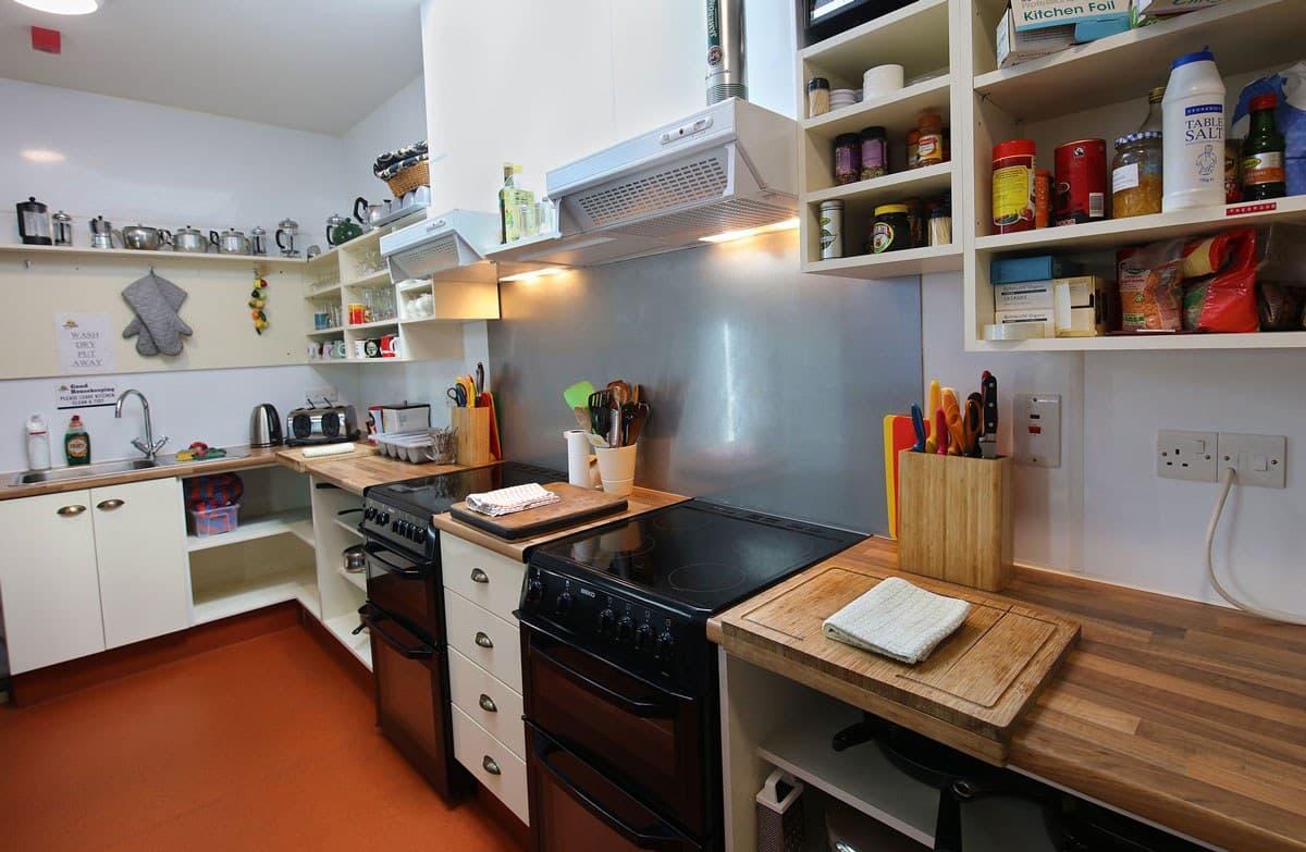 Ballyhoura Hostel Self catering kitchen