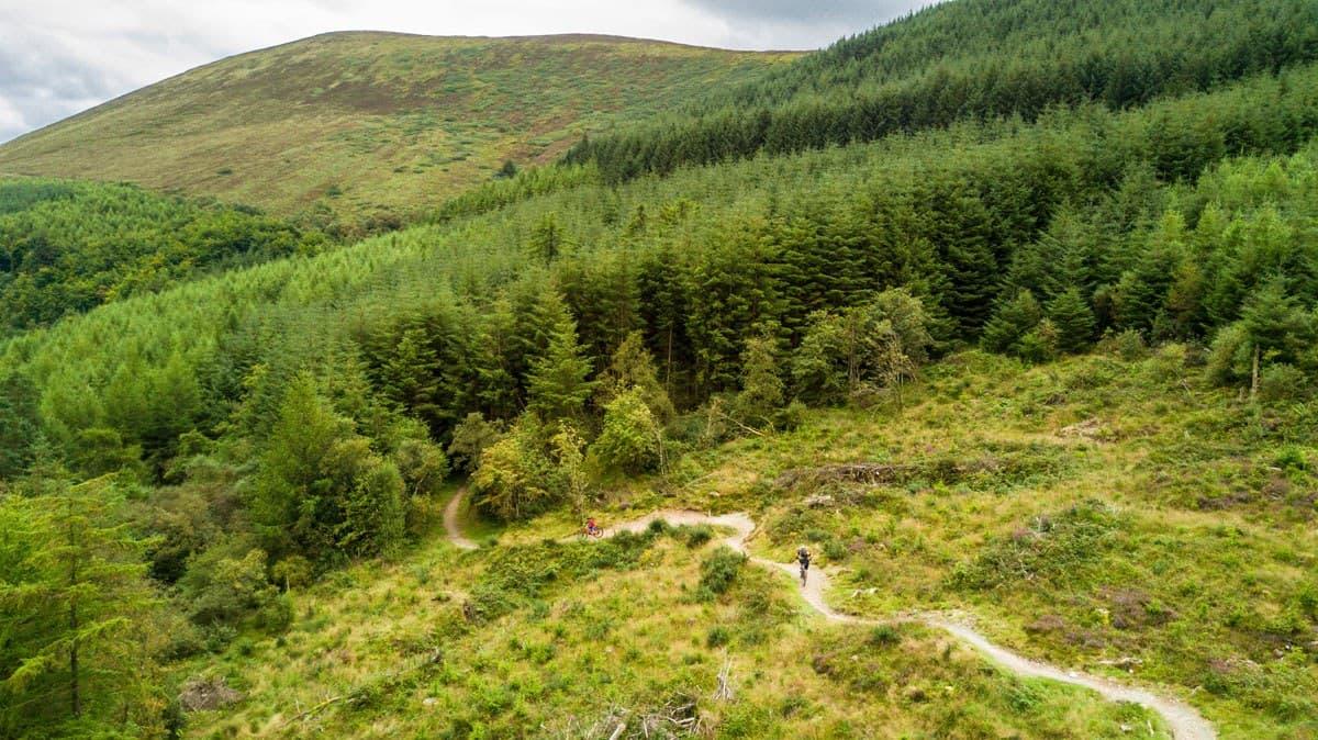Ballyhoura Mountains Biking