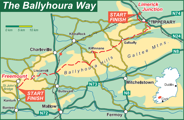 Ballyhoura Way Overview
