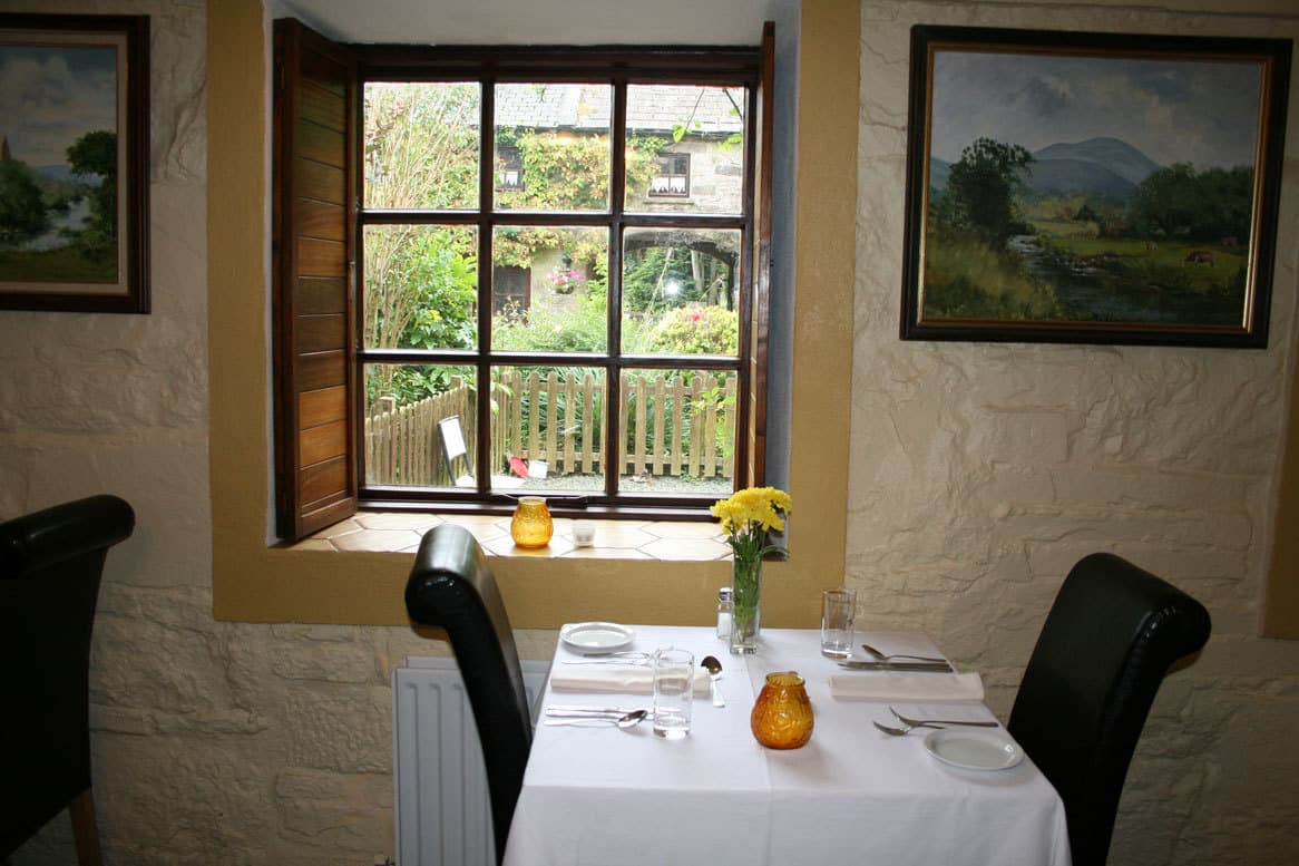 Ballynacourty House Dining