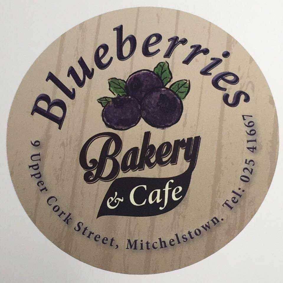 Blueberries Cafe Logo