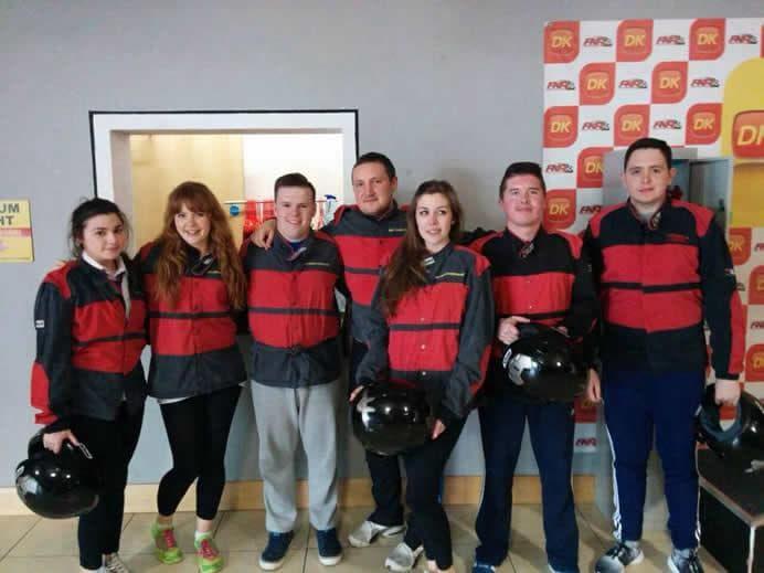 Delta Karting team