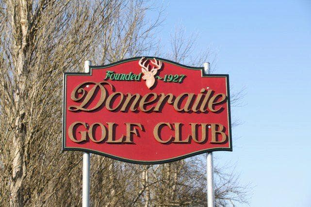 Doneraile Golf Club sign