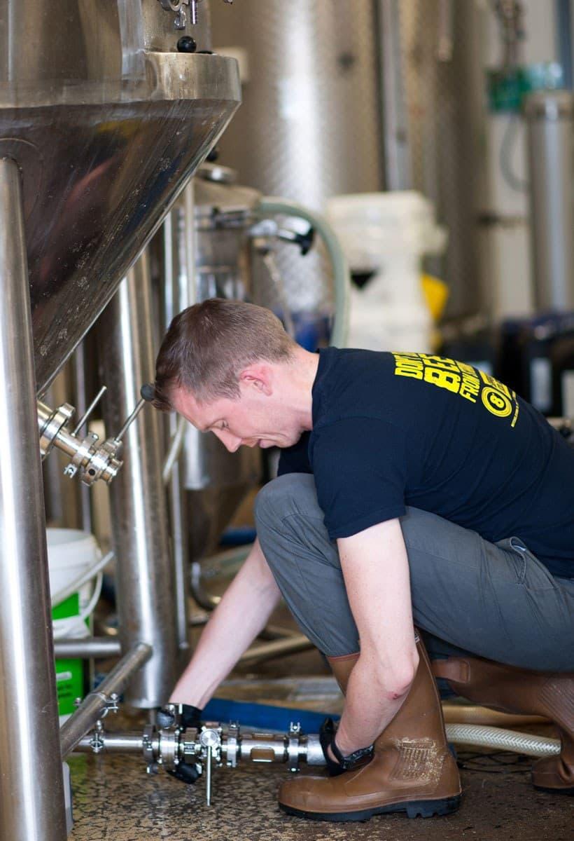 Eight Degrees Brewing Brewer Dan O Shea