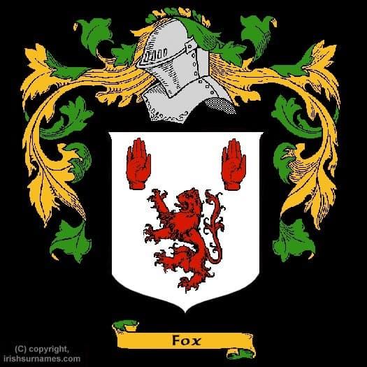 Fox Surname Erb