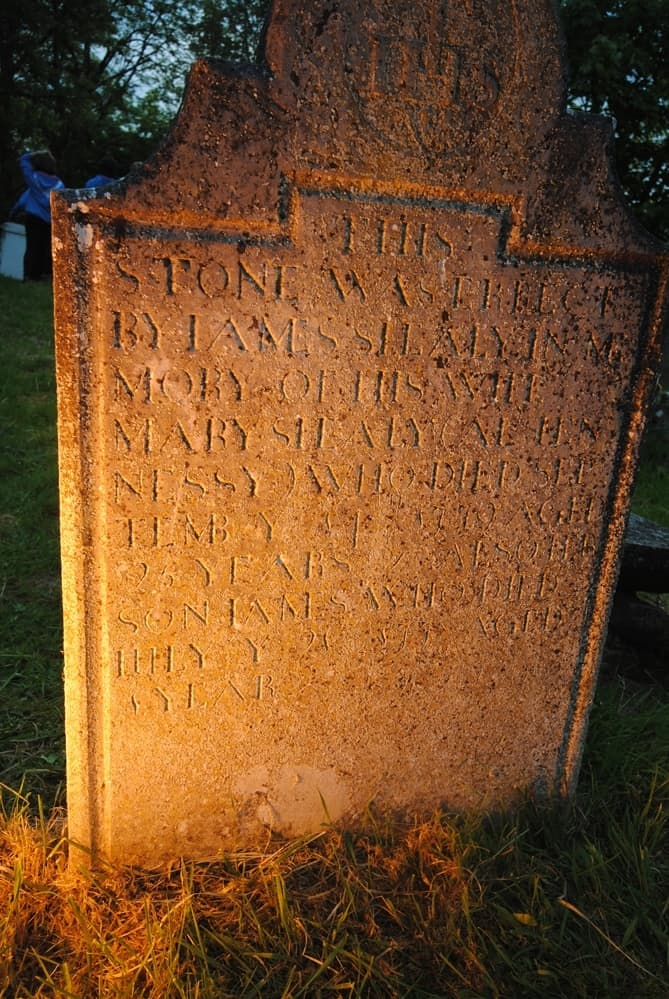 Historic Graves Old Headstone