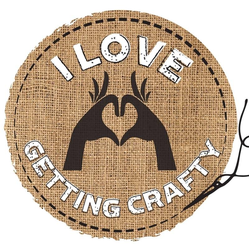 I Love Getting Crafty Logo resized