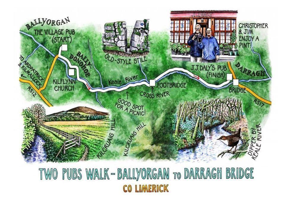 Keale River Walk Map