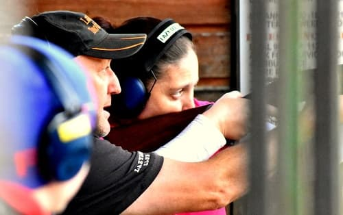 Ladies day at Lazy Dog Shooting ground 1
