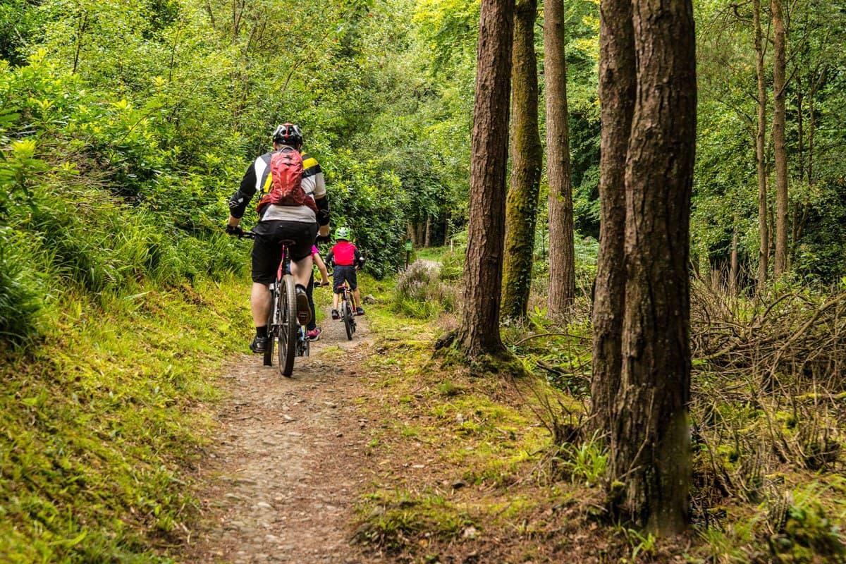 Mountain Biking Family