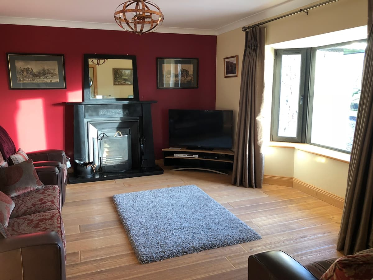 Park South Accommodation Ballyhourode House Sitting Room