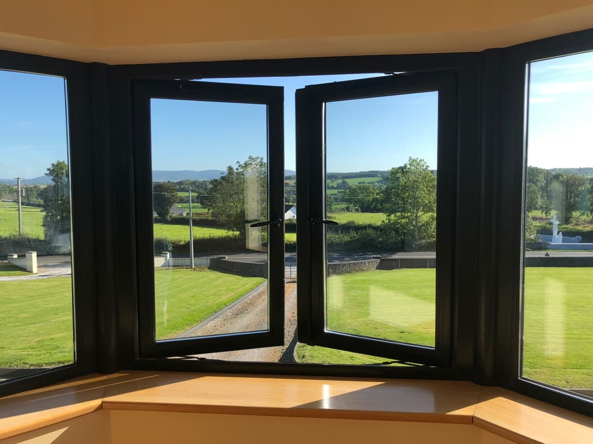 Park South Accommodation Ballyhourode House View from tower