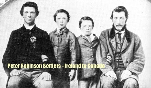 Peter Robinson Settlers 1