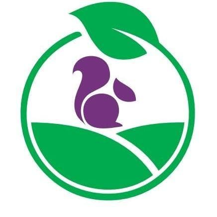 Purple Squirell Farm Logo