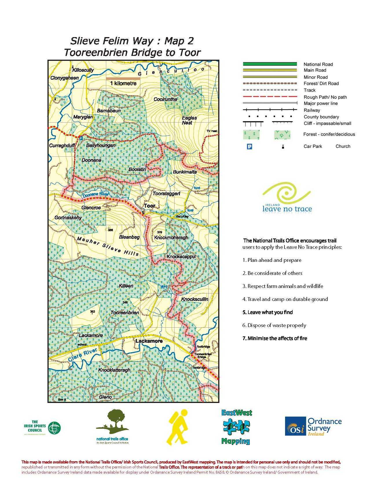 Slieve Felim Way Map Page 2