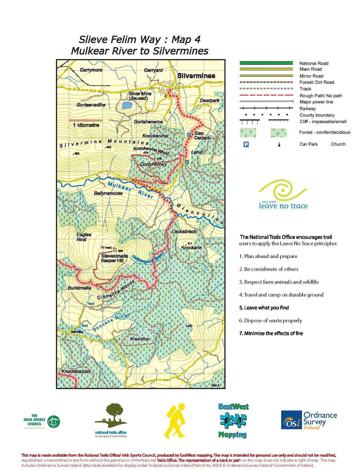 Slieve Felim Way Map Page 4