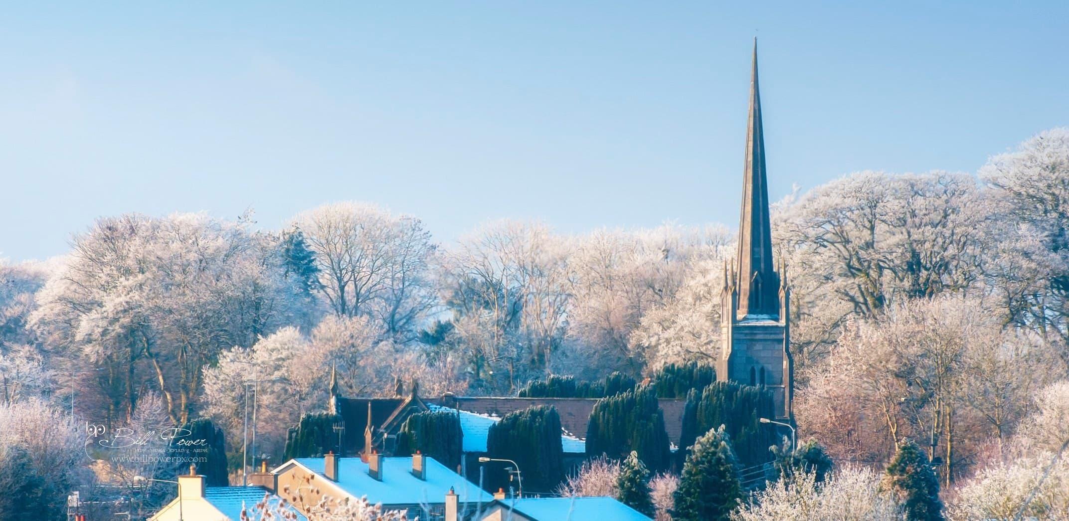 St Georges Church Mitchelstown Winter