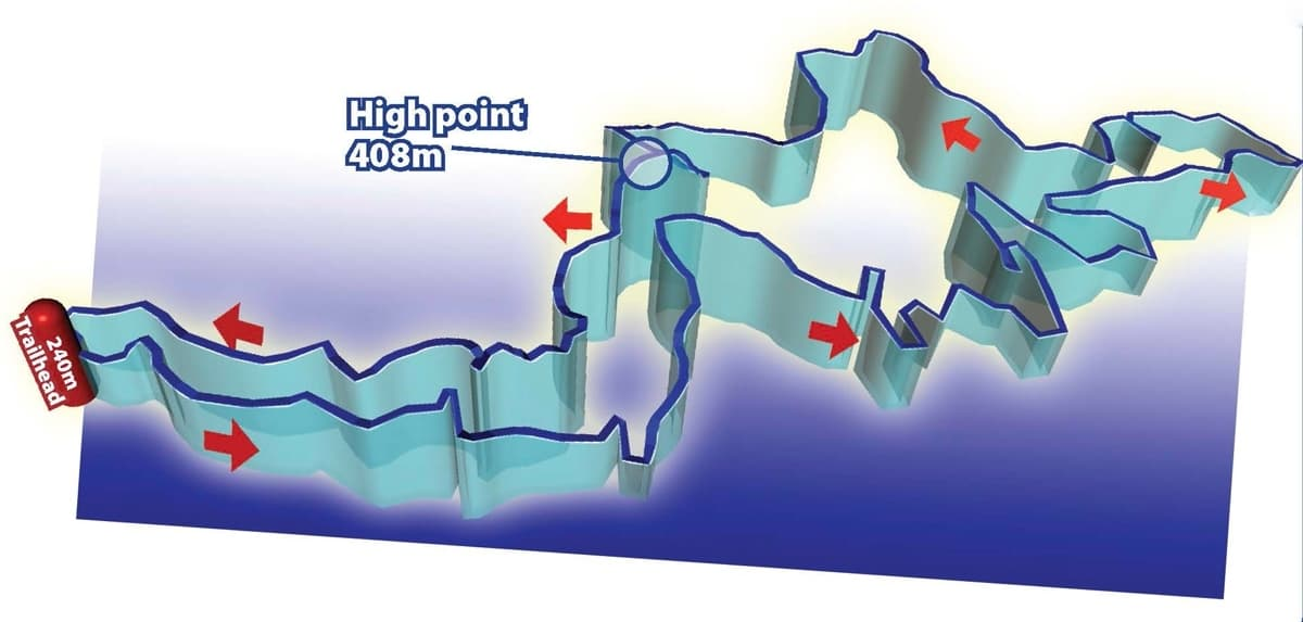 Streamhill Loop detail mtb