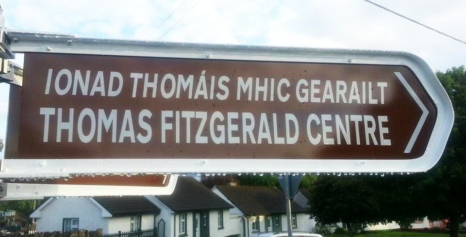Thomas Fitzgerald Centre signpost