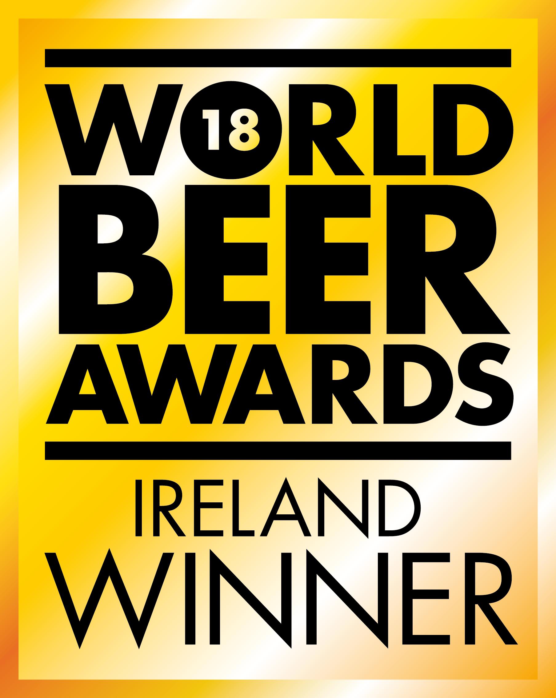 World Beer Awards 18 Ireland WINNER
