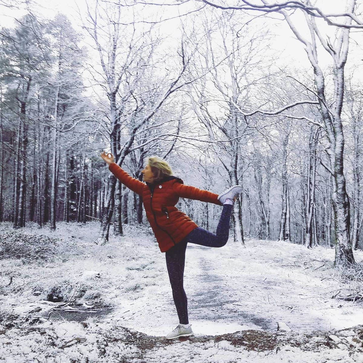 Yoga Walks Ireland in Winter