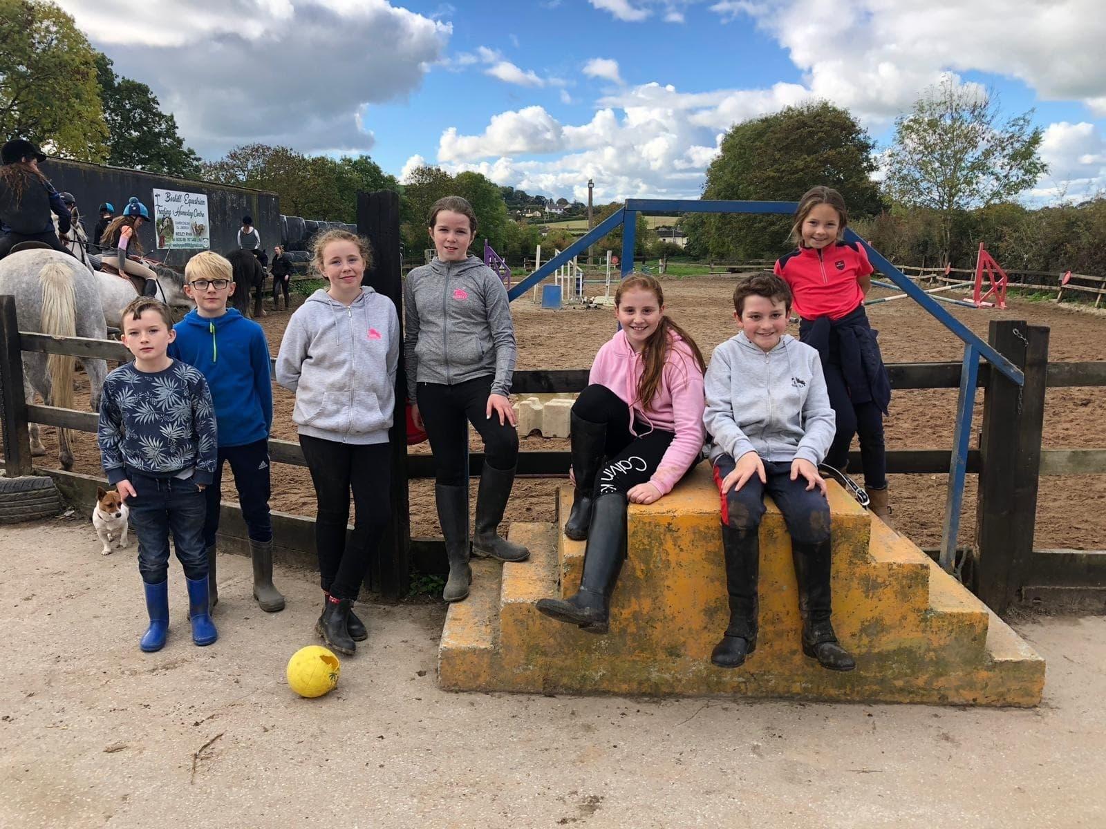 Boskill equestrian centre camp