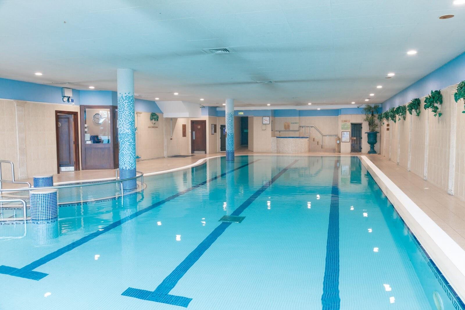 Hibernian hotel swimming pool