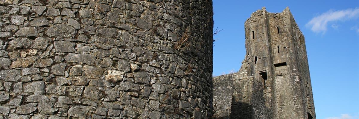 Liscarroll castle banner 1