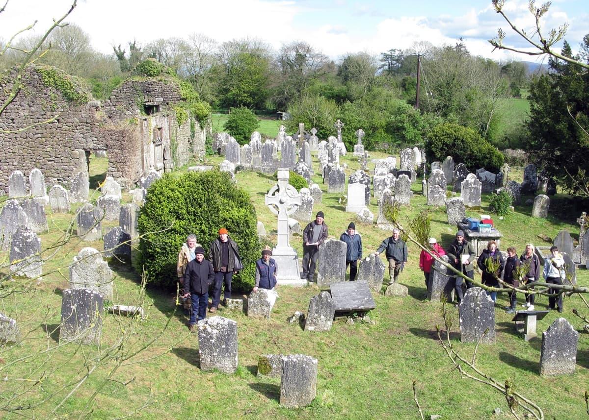 Old graveyard kilbehenny